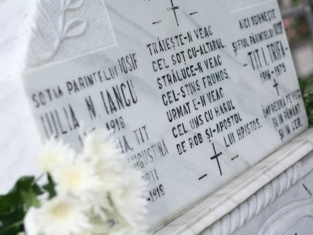 Comemorarea părintelui Iosif Trifa în Dumbrava Sibiului