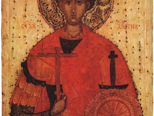 La praznicul sfântului mucenic Dimitrie – Pr. Iosif Trifa