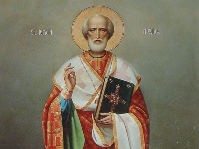 Din viața sfântului Nicolae – Pr. Iosif Trifa