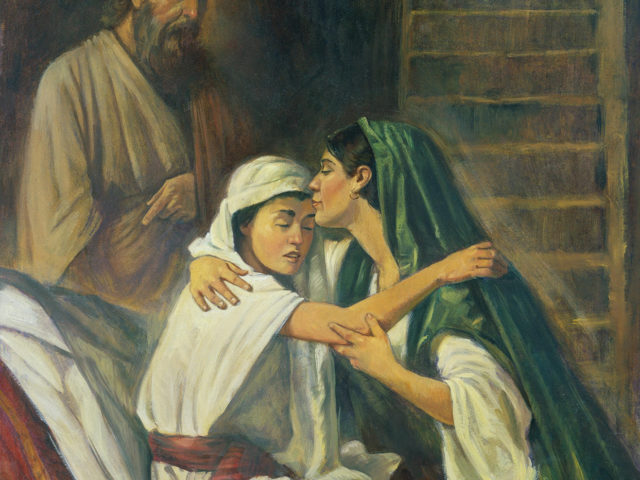 Sfântul proroc Ilie și văduva din Sidon – Nelu Beg