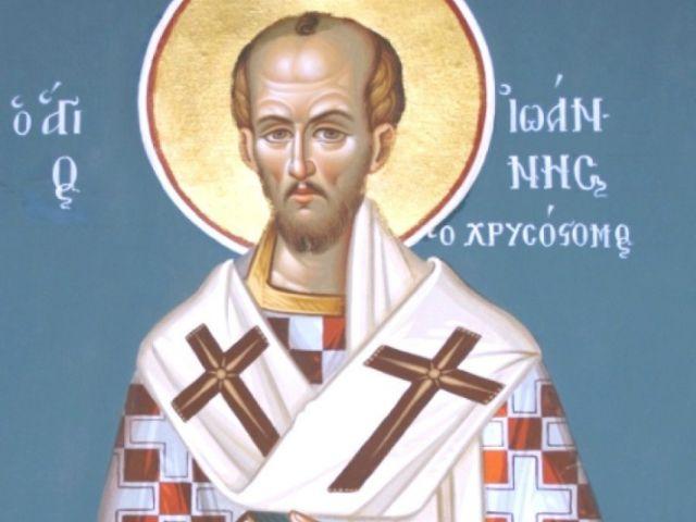 Cuvânt la Sfântul Mare Mucenic Dimitrie –  Sf. Ioan Gură de Aur