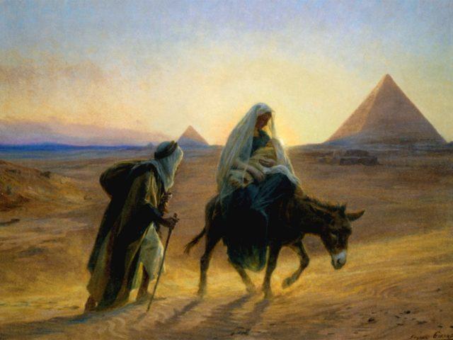 Fuga în Egipt – Pr. Iosif Trifa