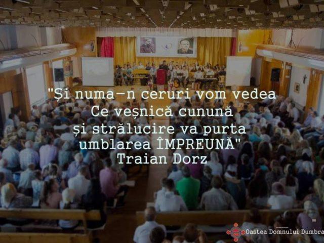 Invitație la adunarea anuală din Dumbrăveni (SV), 11 August 2018
