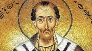 Cuvânt la Duminica dinaintea Botezului Domnului – Sf. Ioan Gură de Aur