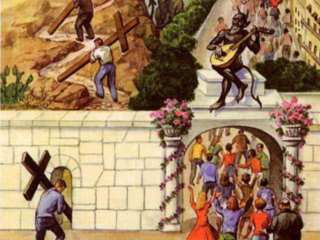 Întrebarea cea mare (I) – Traian Dorz