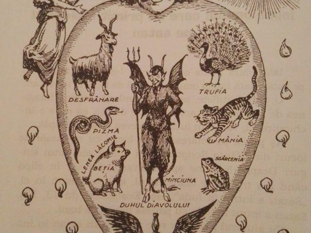 Inima omului care l-a primit pe satan – Pr. Iosif Trifa