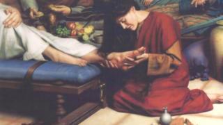 Maria mustrată de farisei şi cărturari – Pr. Iosif Trifa