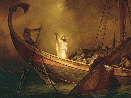 Cu Domnul în furtună – Pr. Iosif Trifa