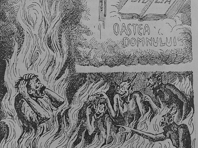 Păcătosul vorbeşte din iad – Pr. Iosif Trifa
