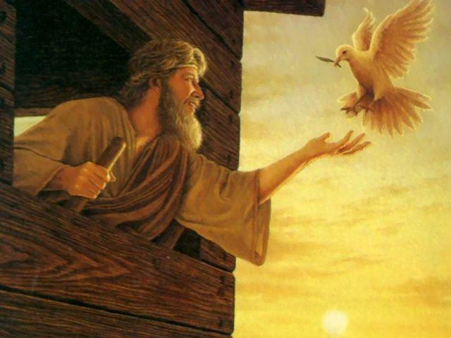 Porumbelul şi corbul – Pr. Iosif Trifa