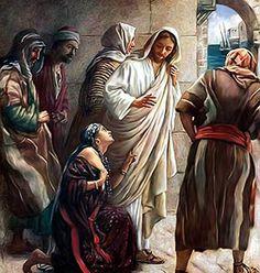 Cananeanca și rugăciunea de mijlocire – Ionatan Ille