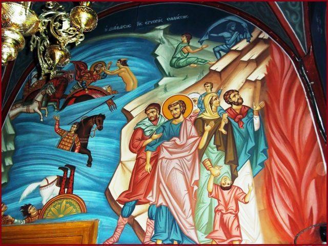 În fața Marii Roșii – Pr. Iosif Trifa