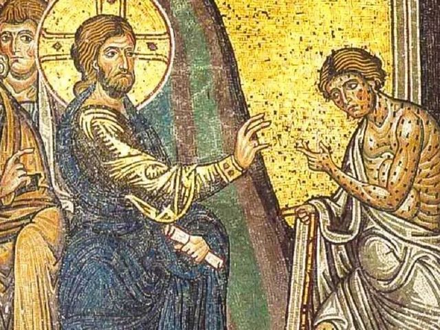 Duminica celor zece leproși – Pr. Iosif Trifa