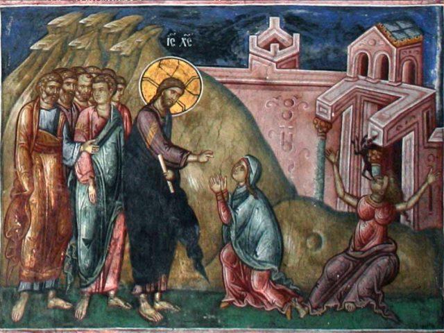 Duminica femeii cananeence – Pr. Iosif Trifa