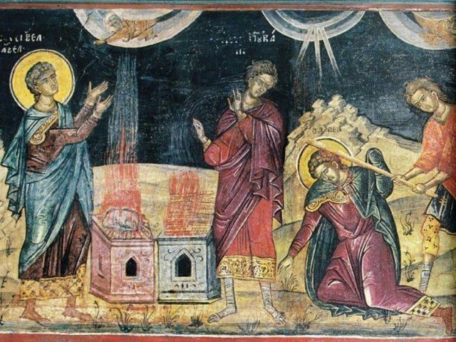 Jertfa lui Cain și a lui Abel – Pr. Iosif Trifa