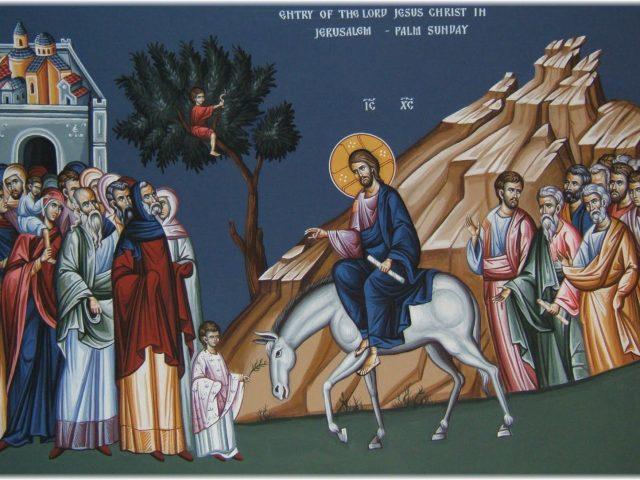 Intrarea în Ierusalim – Pr. Iosif Trifa
