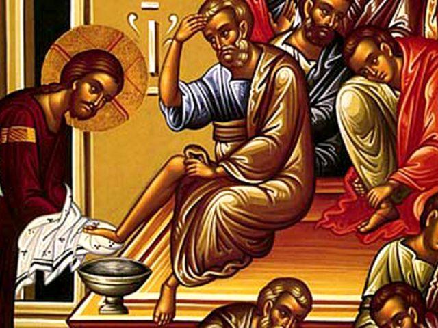 Spălarea picioarelor – Pr. Iosif Trifa