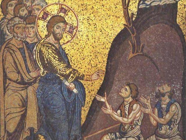 Iisus vindecă doi orbi – Pr. Iosif Trifa