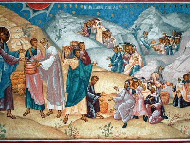 Săturarea celor cinci mii de oameni – Pr. Iosif Trifa